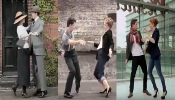 Evolución de la moda en 100 años (Video)