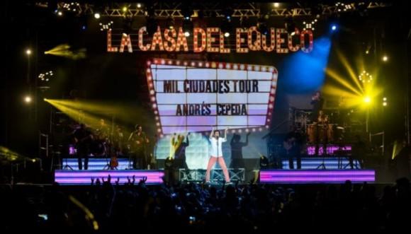 Un éxito total el #TourMilCiudades de Cepeda (Video)