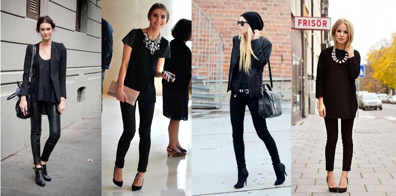 All Black Black Outfit Ideas Stylized Existence Blog