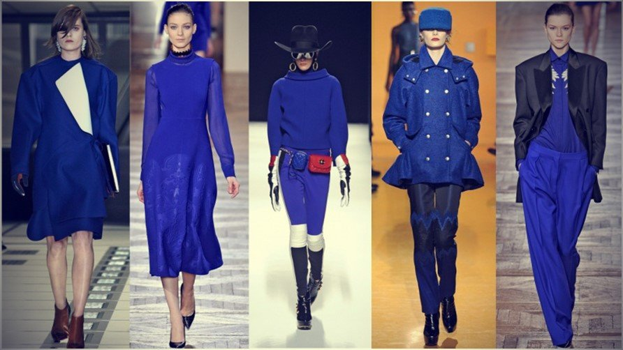 Electic Blue Outfit Combinations