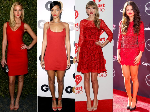 gallery big red lipstick with red dress