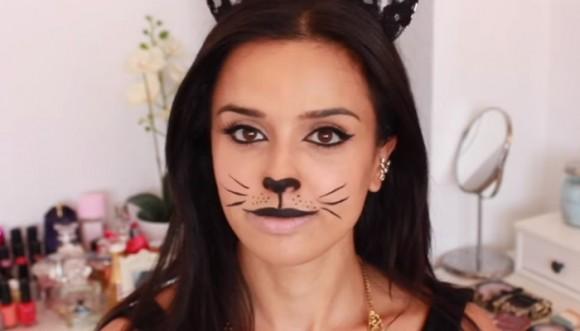 Maquíllate como gatita (Tutorial)