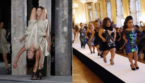 Excentricidades de la Semana de la Moda de París