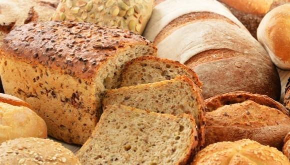 ¿Cuántas calorías tiene cada tipo de pan?