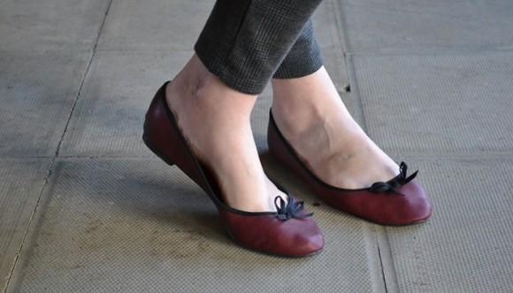 Tips para que las bailarinas no lastimen tus pies