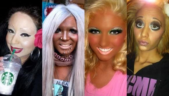 Maquillajes desastrosos... ¡Y no son de Halloween!