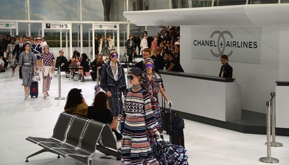 Chanel ahora es... ¿Aerolínea?