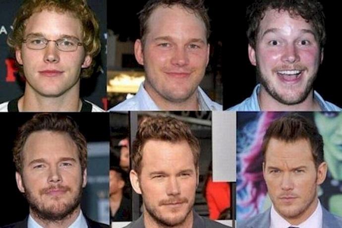 Transformación de Chris Pratt