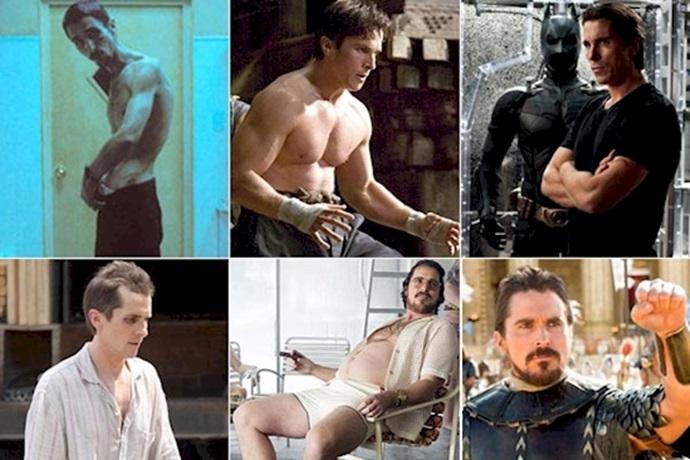 Transformación de Christian Bale