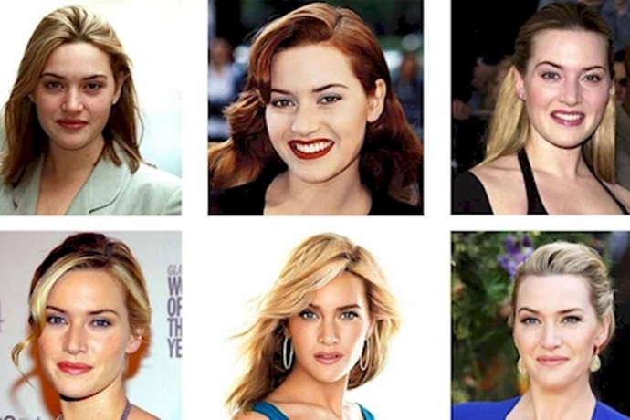 Transformación de Kate Winslet