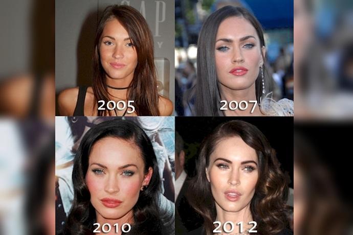 Transformación de Megan Fox