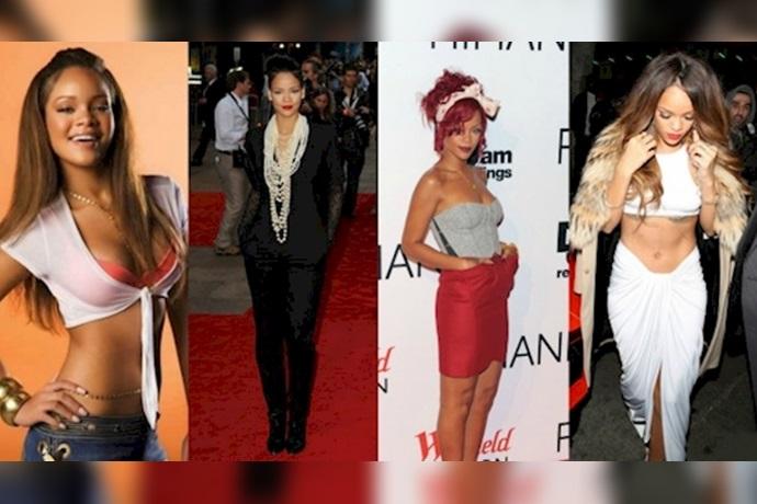 Transformación de Rihanna