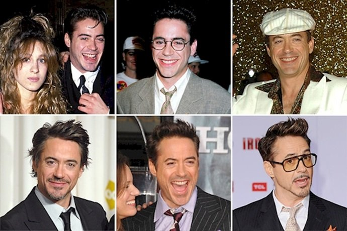 Transformación de Robert Downey Jr