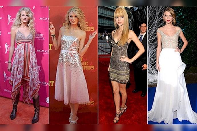 Transformación de Taylor Swift