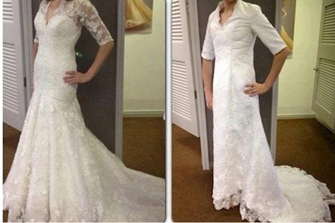 Expectativa y realidad de un vestido de novia