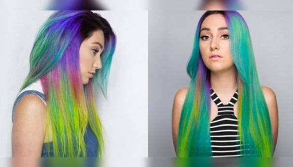 Pelo arcoíris: una tendencia multicolor