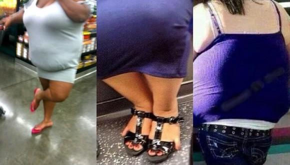 Gente que no sabe cuál es su talla