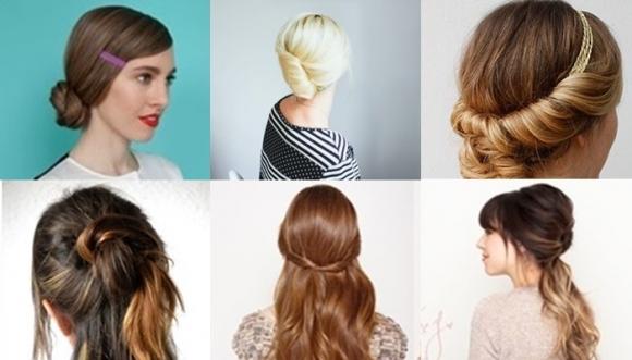 6 peinados enrollados (paso a paso)