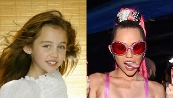 Miley Cyrus: Su transformación en 53 fotos