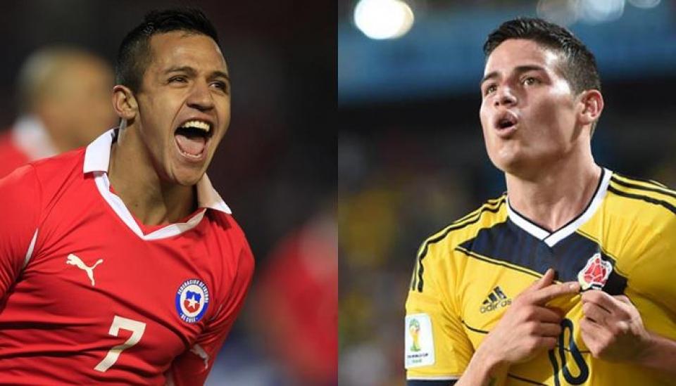 Hoy juega nuestra Selección Colombia contra Chile
