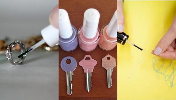 11 usos del esmalte además de pintar uñas