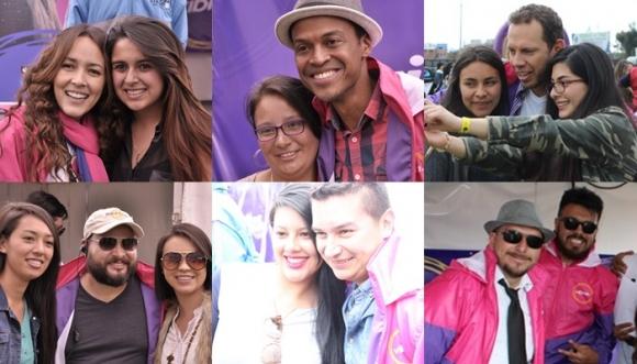 Encuentra tu foto con los locutores de Vibra en T&M