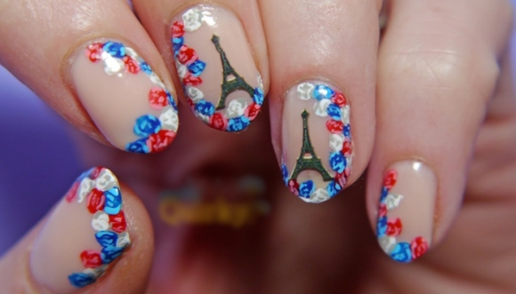 Lleva a Francia en tus uñas