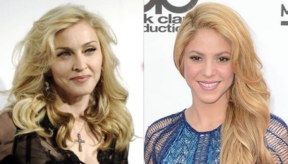 Madonna y Shakira juntas ¿te imaginas un dúo?