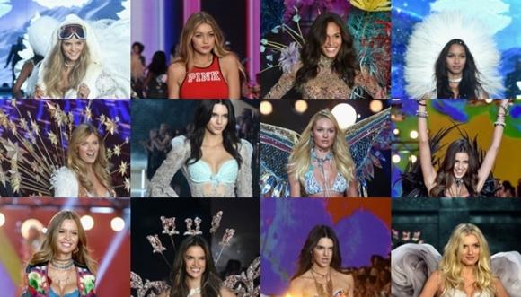 Todas las fotos del desfile de Victoria's Secret 2015