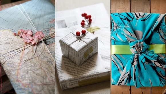 10 formas creativas de envolver un regalo
