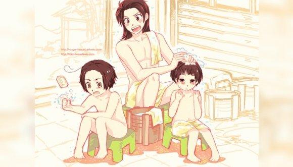 ¿Está bien que un papá se bañe con su hija?