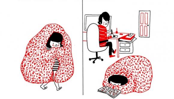 Ilustraciones demuestran que el amor está en las pequeñas cosas