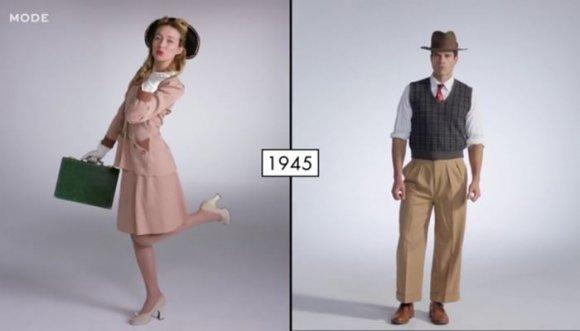 100 años de moda en 3 minutos