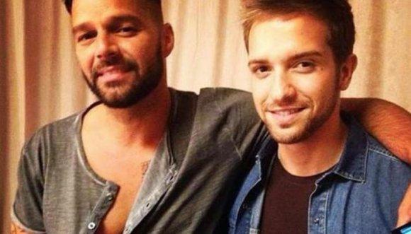 Crece el rumor de que Ricky Martin y Pablo Alborán son pareja