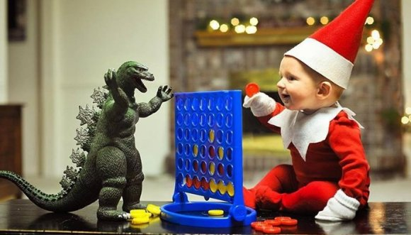Este es el bebé más navideño de este diciembre