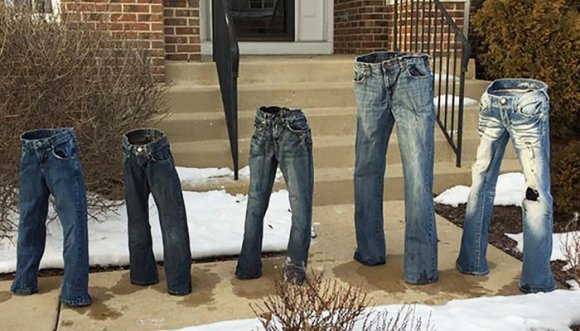 Jeans congelados, la nueva tendencia