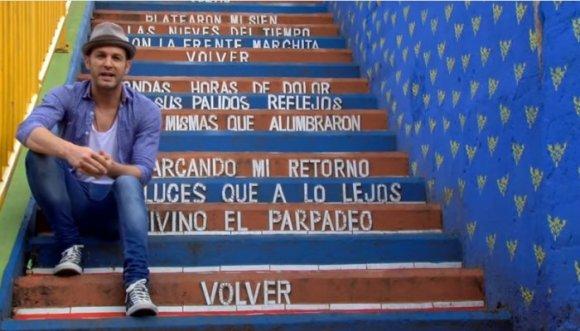 """Axel hizo """"La ruta del tango"""" en Medellín (Videos)"""