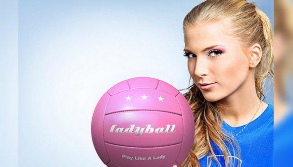 Lanzan balón rosado diseñado para mujeres