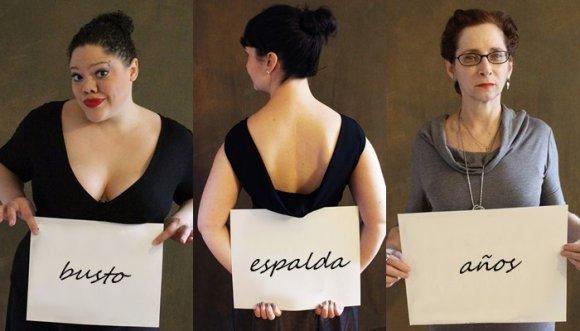 Mujeres se visten como les recomendaron no hacerlo