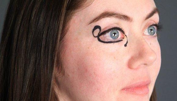 Plantilla para delinear los ojos... ¡Por fin se la inventaron!