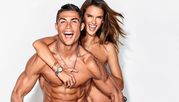 CR7 y Alessandra Ambrosio, ¿perfección o photoshop?
