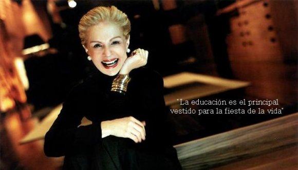 Frases para la vida de Carolina Herrera
