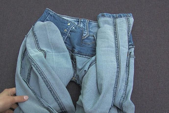 Lava tus jeans al revés