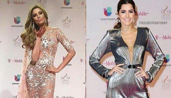 Pintas de Paulina Vega y más invitados a los Premios Lo Nuestro