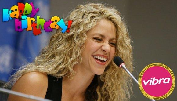 Shakira, felices 39 añitos