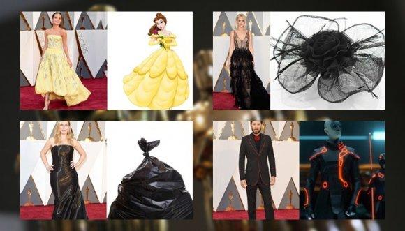 ¿A qué (o quién) se parecen las pintas de los Oscar?
