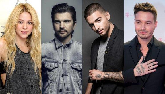Colombianos nominados y enfrentados en Latin Billboard 2016