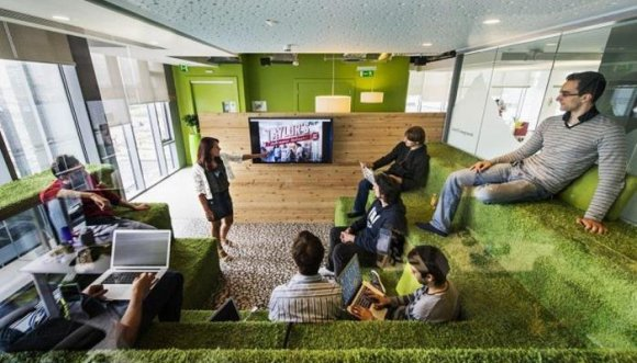 Las oficinas más más en las que quisieras trabajar (Fotos)