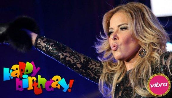 Gloria Trevi celebró su cumpleaños con un gran concierto