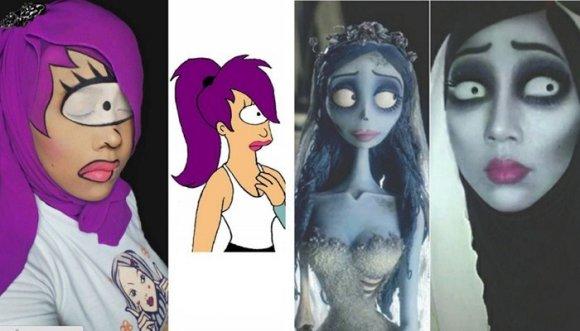 Se maquilla como dibujos animados... ¡Sorprendente!